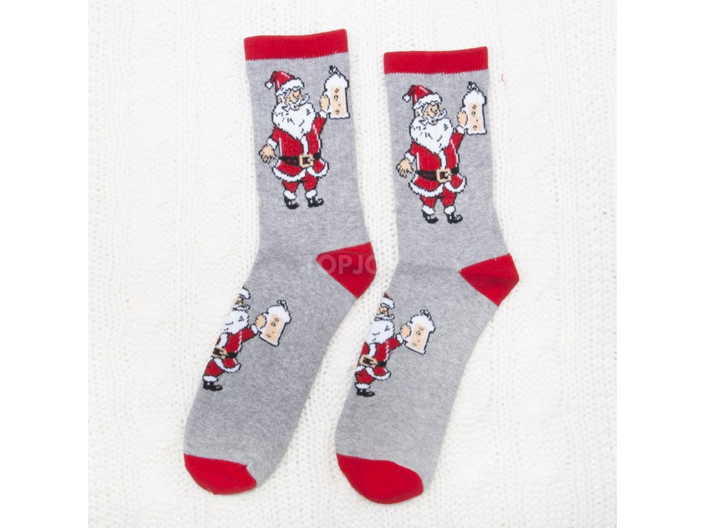 pánské vánoční termo ponožky fsv6730 (2)