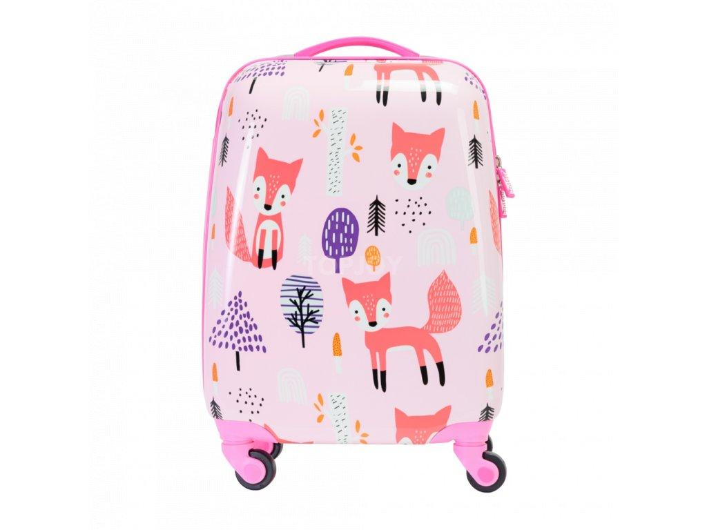 Bontour gyerek bőrönd róka (1)
