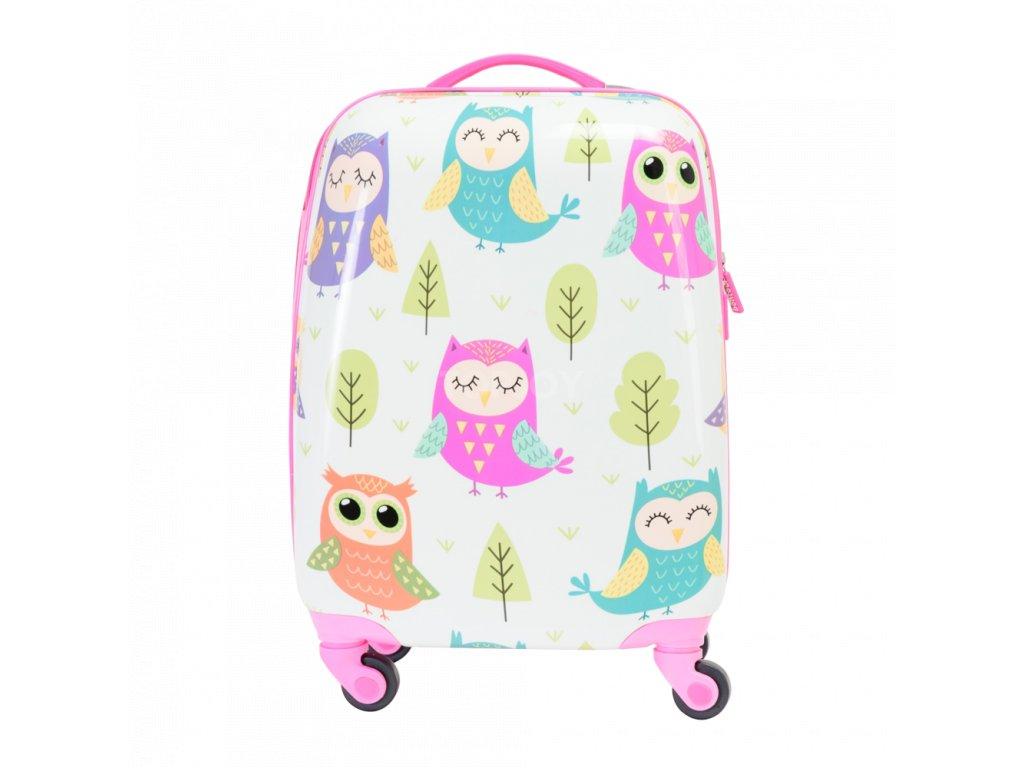Bontour gyerekbőrönd bagoly (1)