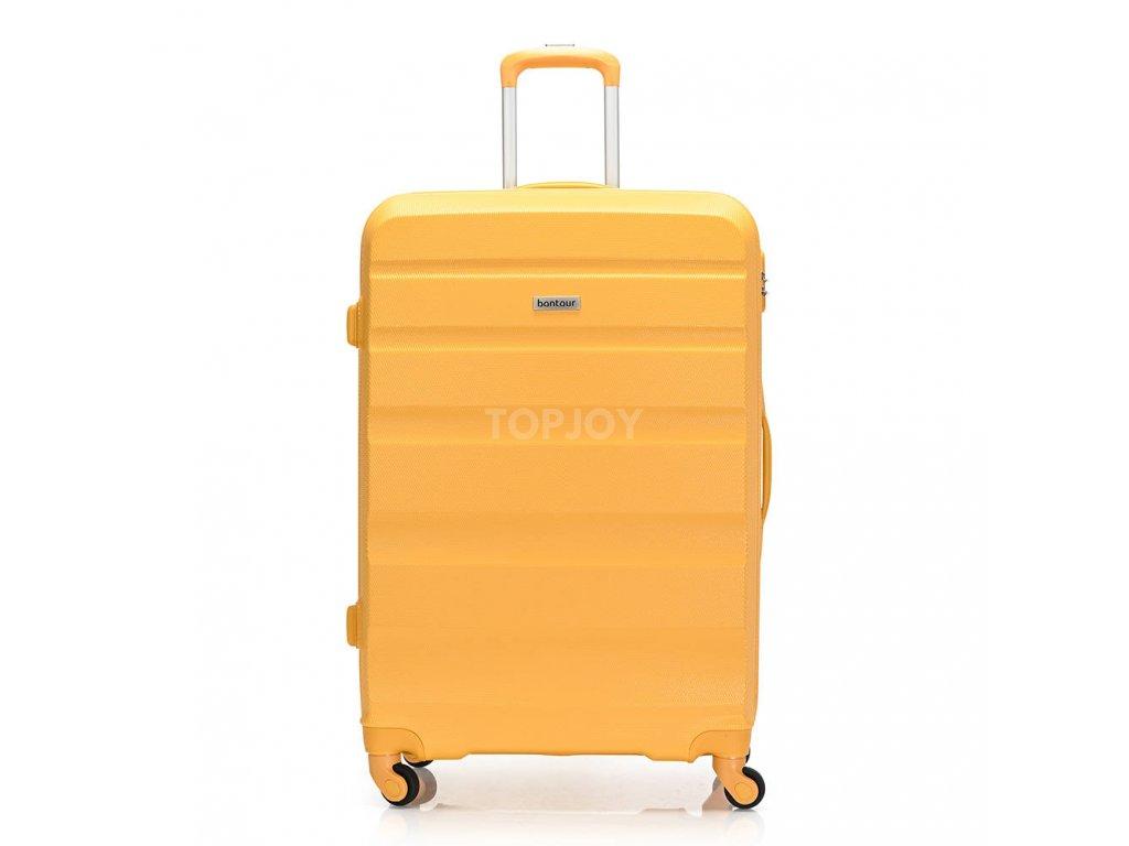Skořepinový ABS kufr 120340 žlutý L