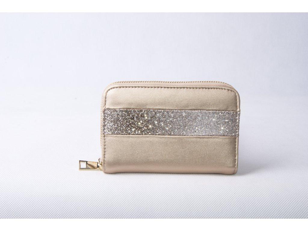 Dámská peněženka FLO9407 zlatá
