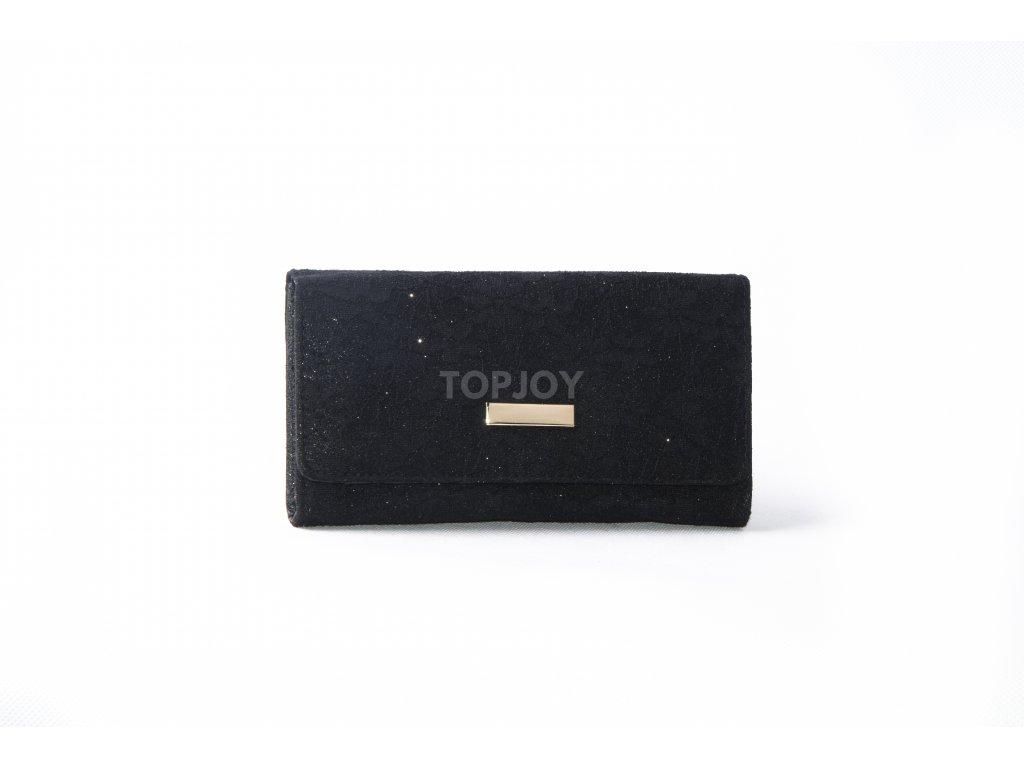 Dámská peněženka s krajkou xd152 černá