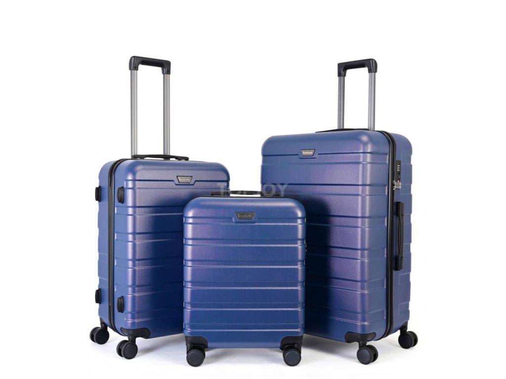 Skořepinový premium kufr s TSA zámkem 150140 modrý M