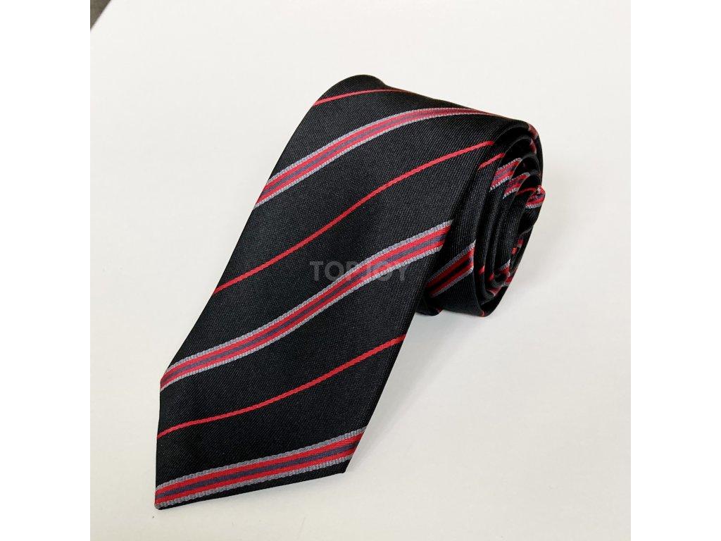 pánská kravata se vzorem (8)