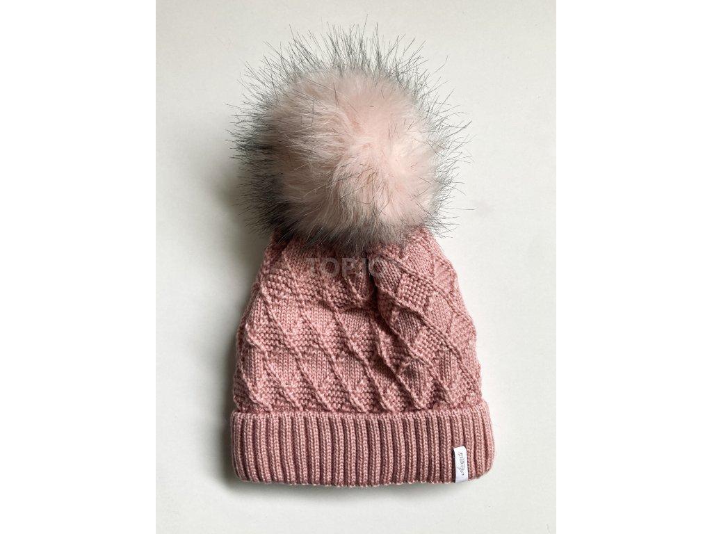 dámská zimní čepice kulich (7)