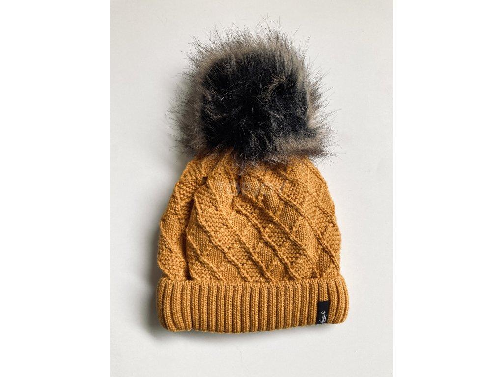 dámská zimní čepice kulich (9)