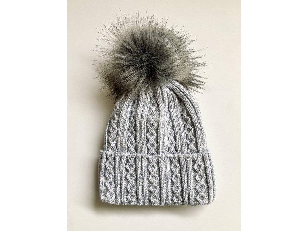 dámská zimní čepice kulich (35)
