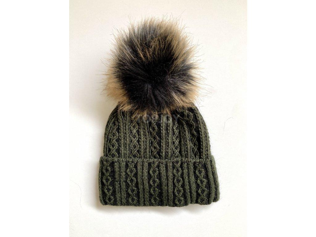 dámská zimní čepice kulich (37)