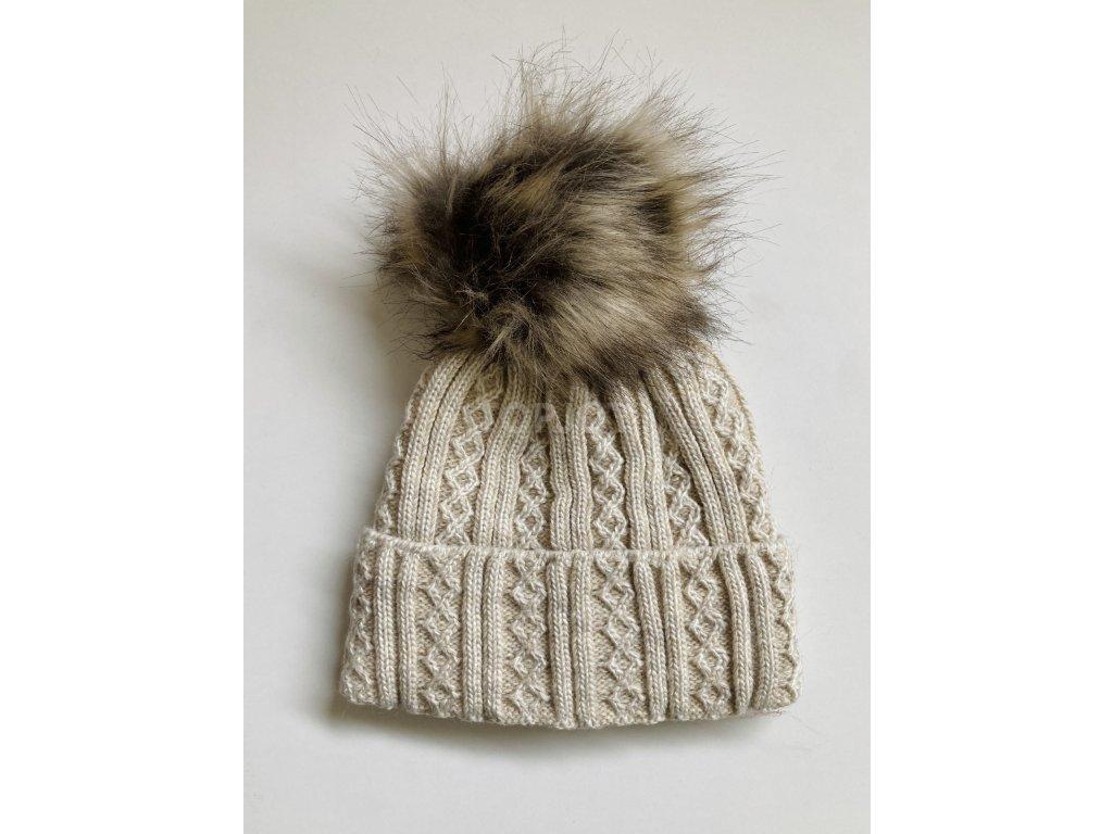 dámská zimní čepice kulich (41)