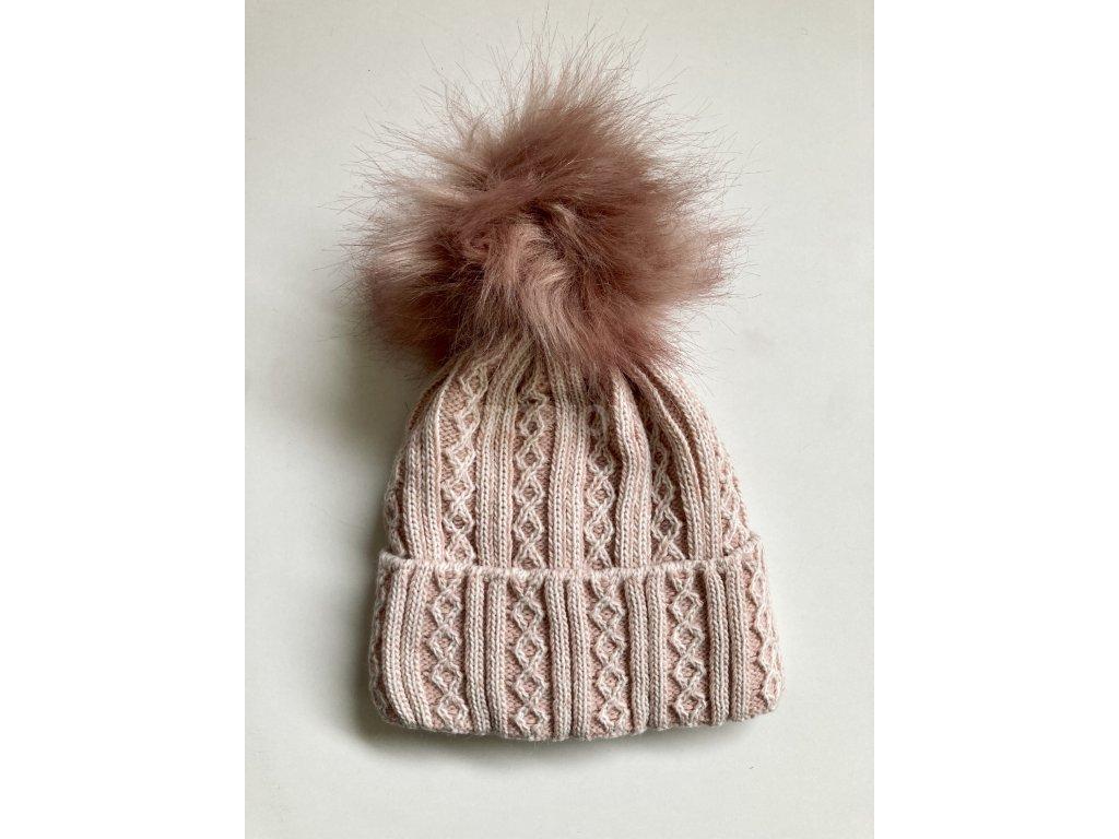 dámská zimní čepice kulich (43)