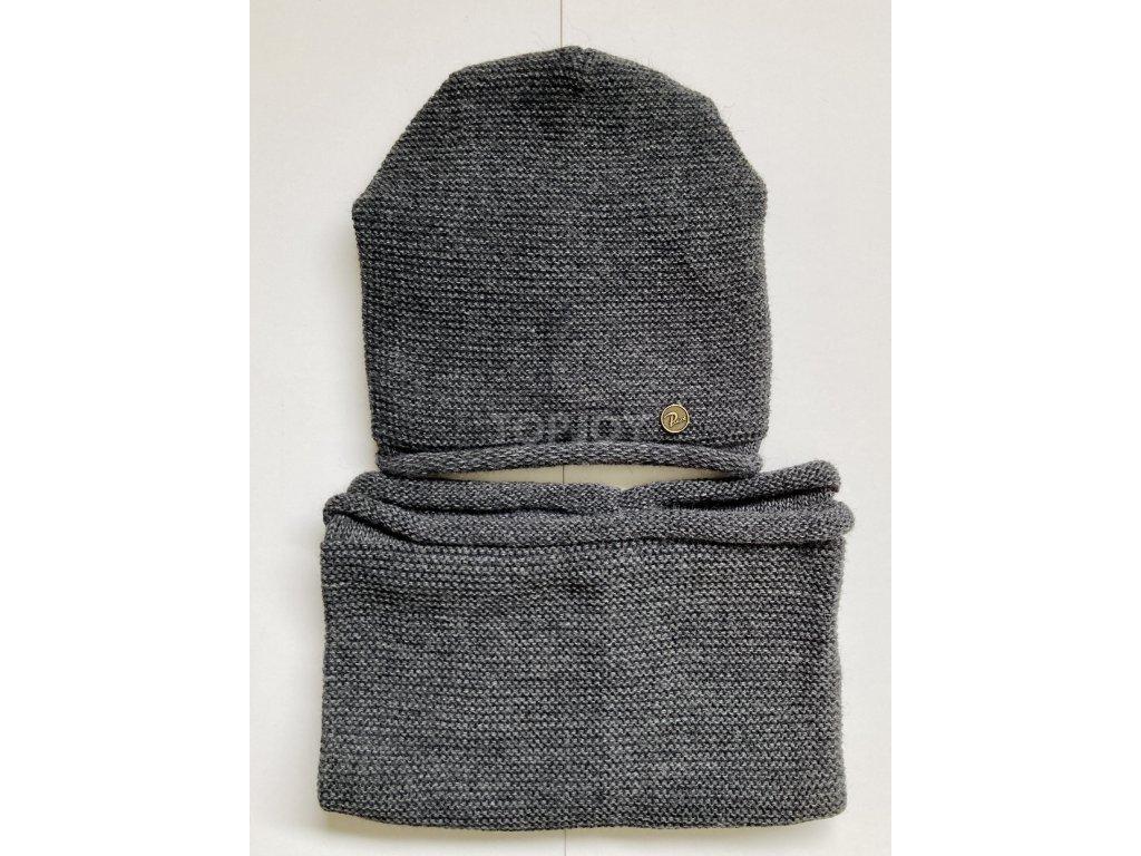dámská zimní čepice kulich (52)