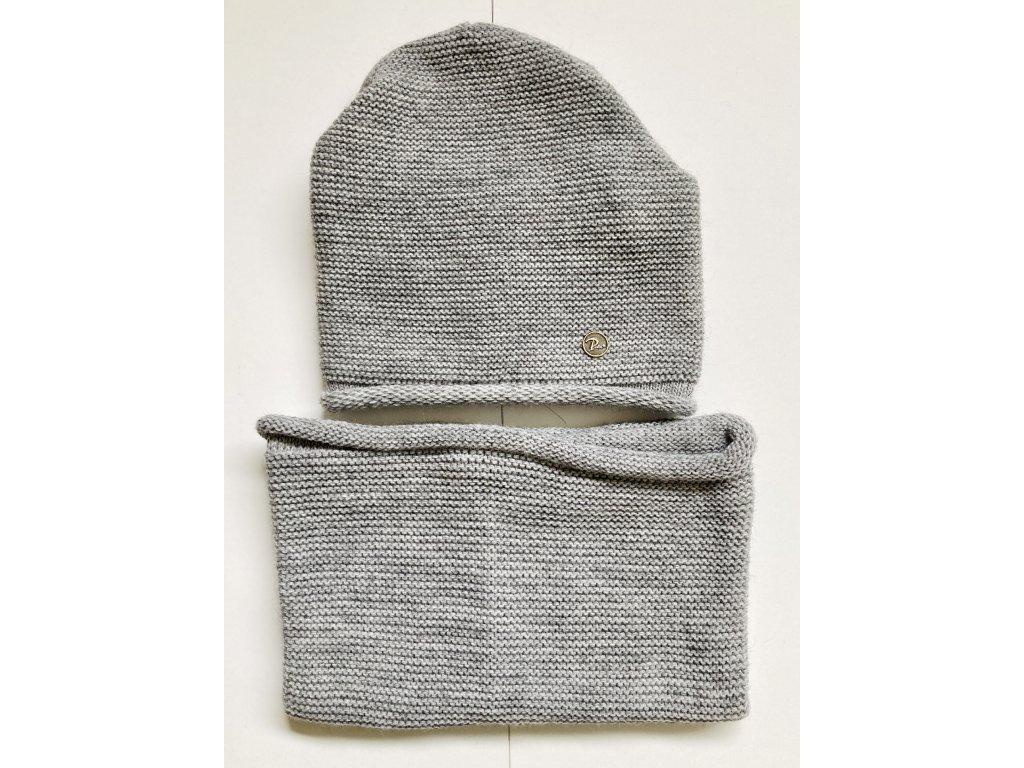 dámská zimní čepice kulich (55)
