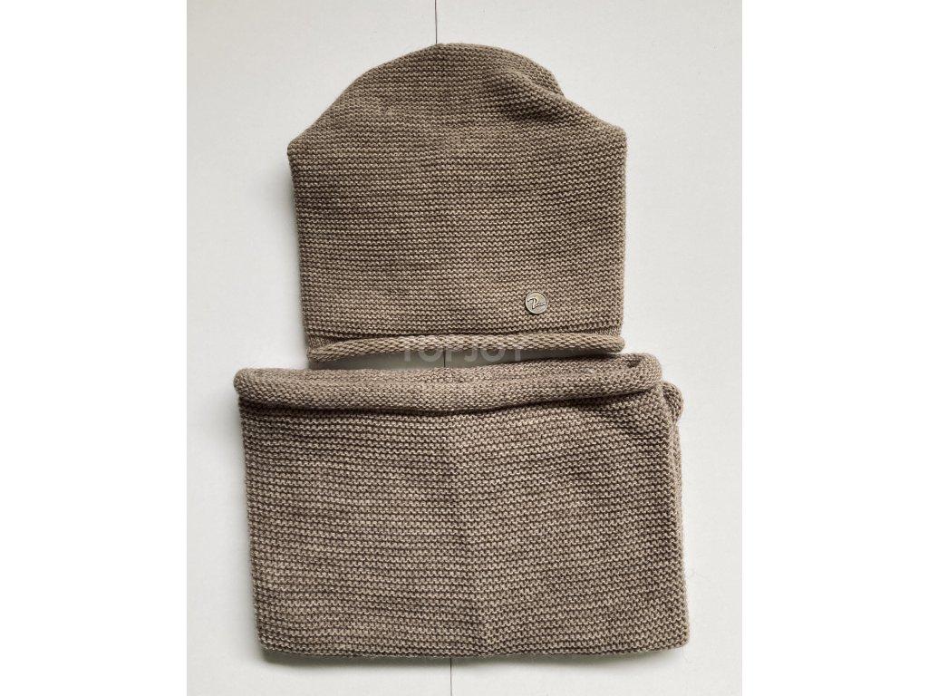 dámská zimní čepice kulich (57)