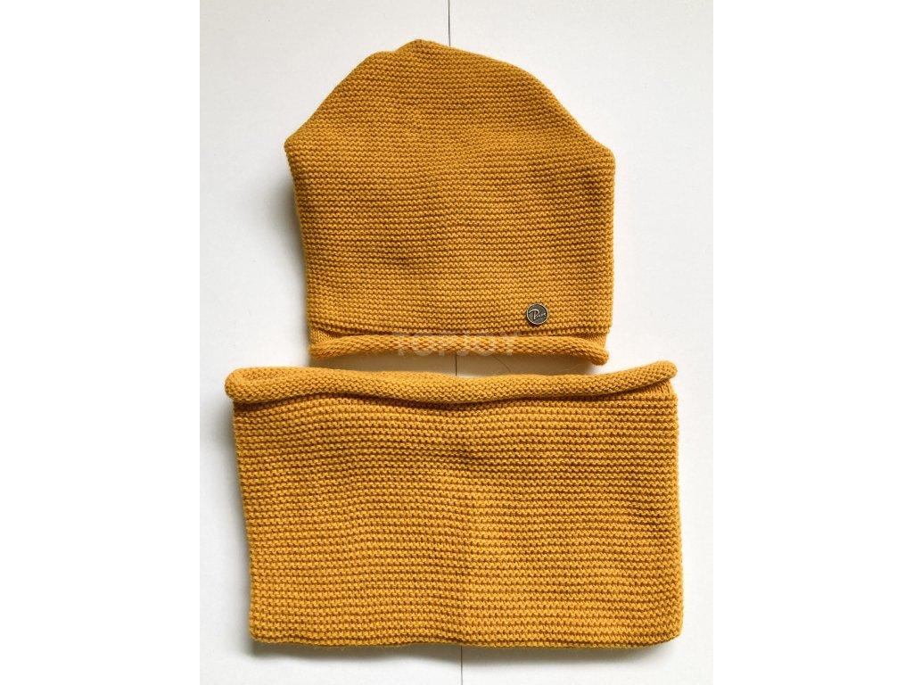 dámská zimní čepice kulich (63)