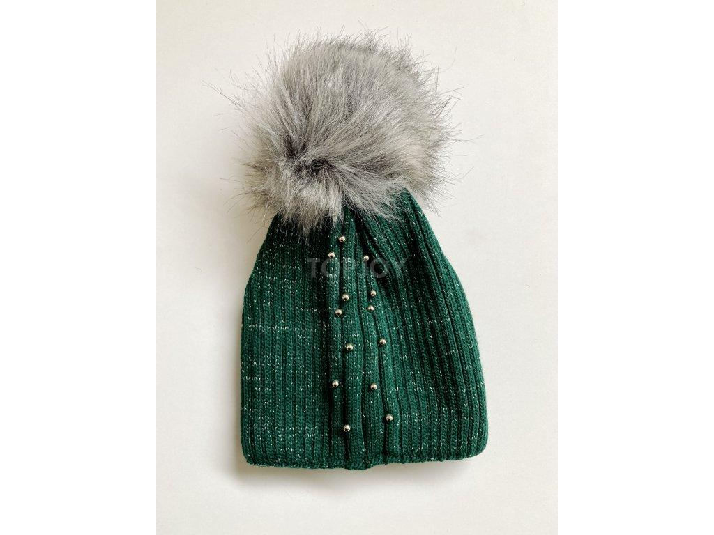dámská zimní čepice kulich (70)