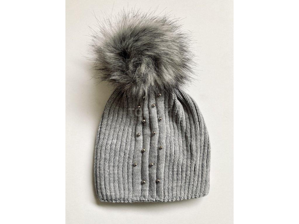 dámská zimní čepice kulich (72)
