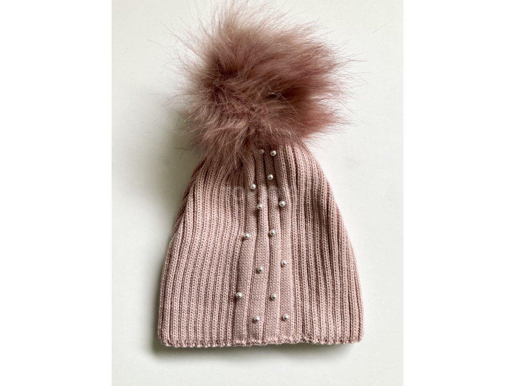 dámská zimní čepice kulich (74)