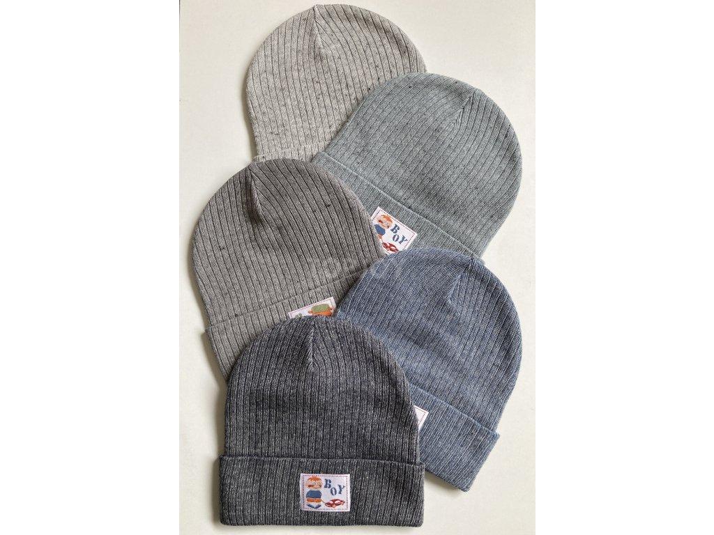 dámská zimní čepice kulich (119)