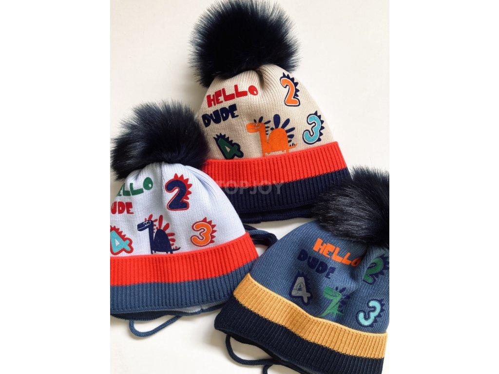 dámská zimní čepice kulich (170)