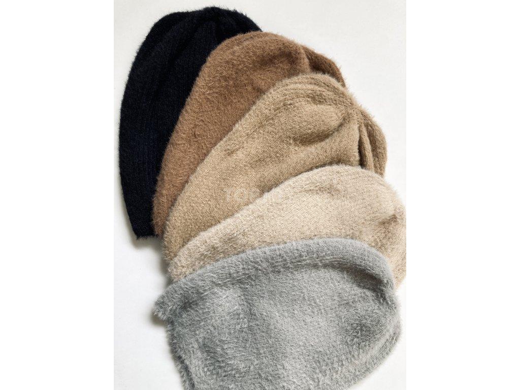 dámská zimní čepice kulich (182)