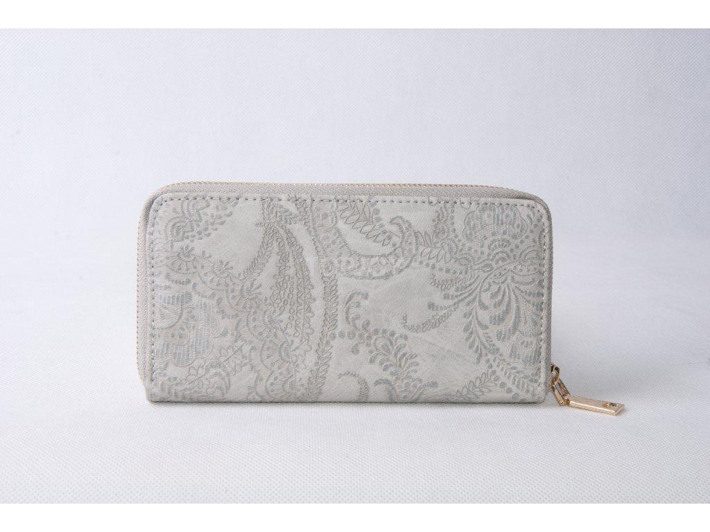 Dámská peněženka XD9824 světle šedá