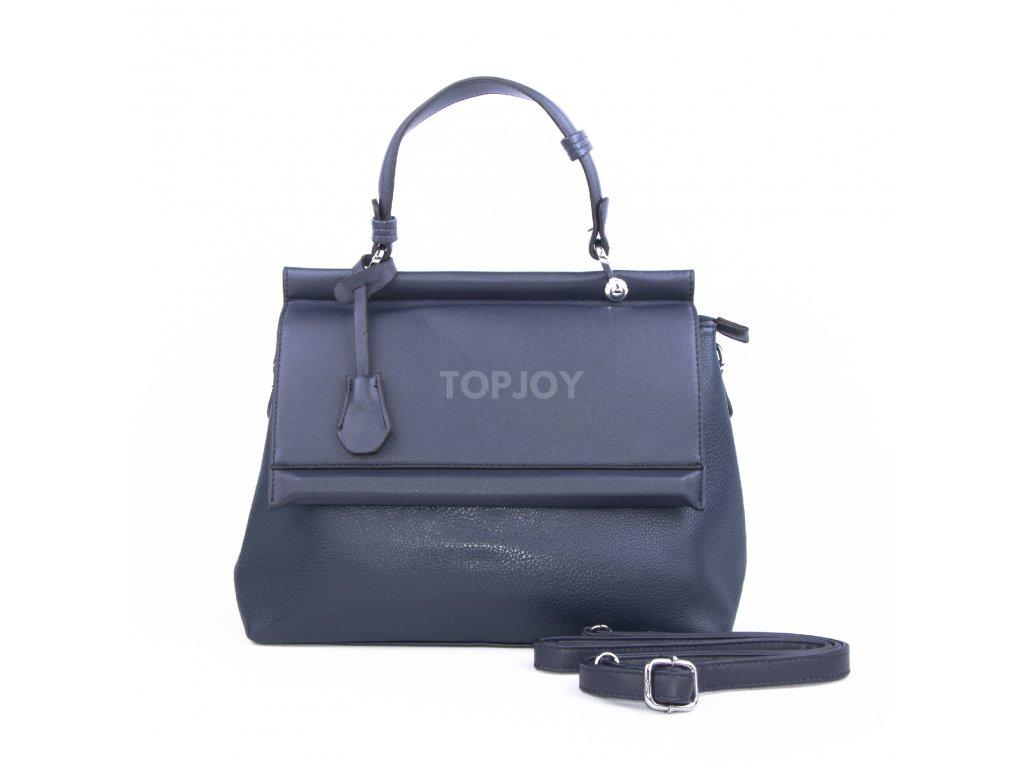 adb1bfc09c Luxusní dámská kabelka aktovka 18331 marine - TOPJOY