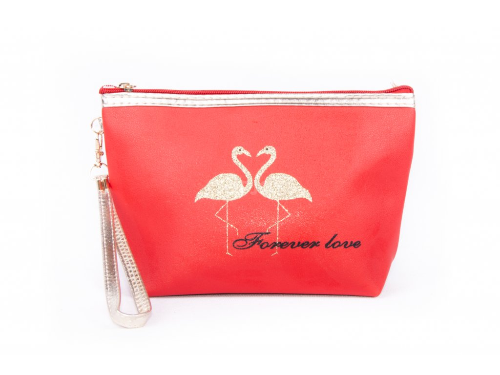 dámská kosmetická taška 11532 1 2 červená (1)