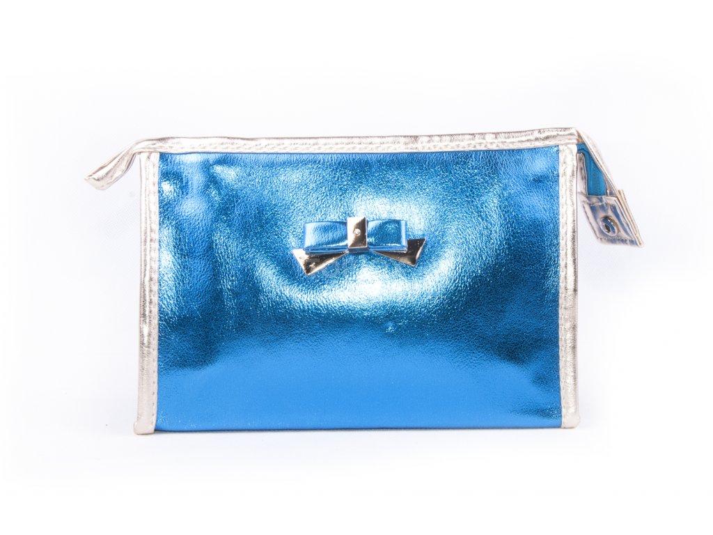 dámská kosmetická taška lesk 11532 6 62 1 modrá (1)