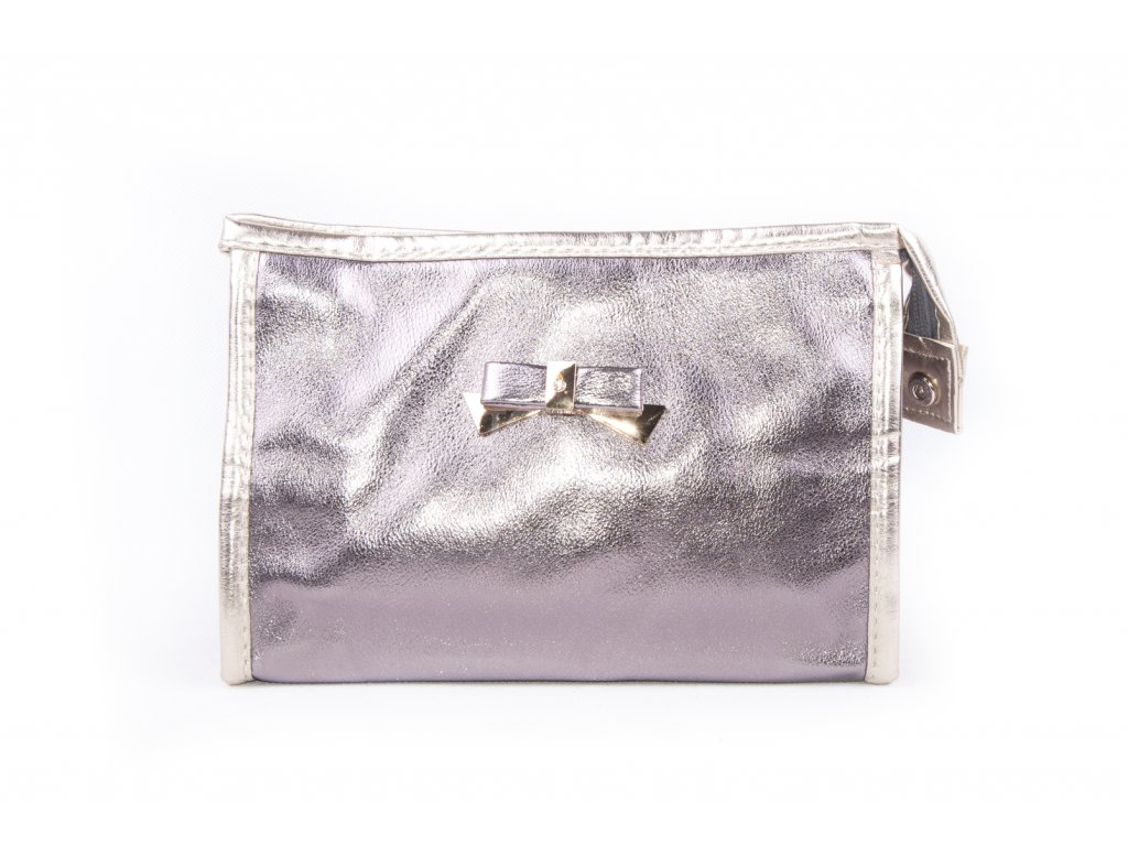 dámská kosmetická taška lesk 11532 6 62 4 šedá (1)