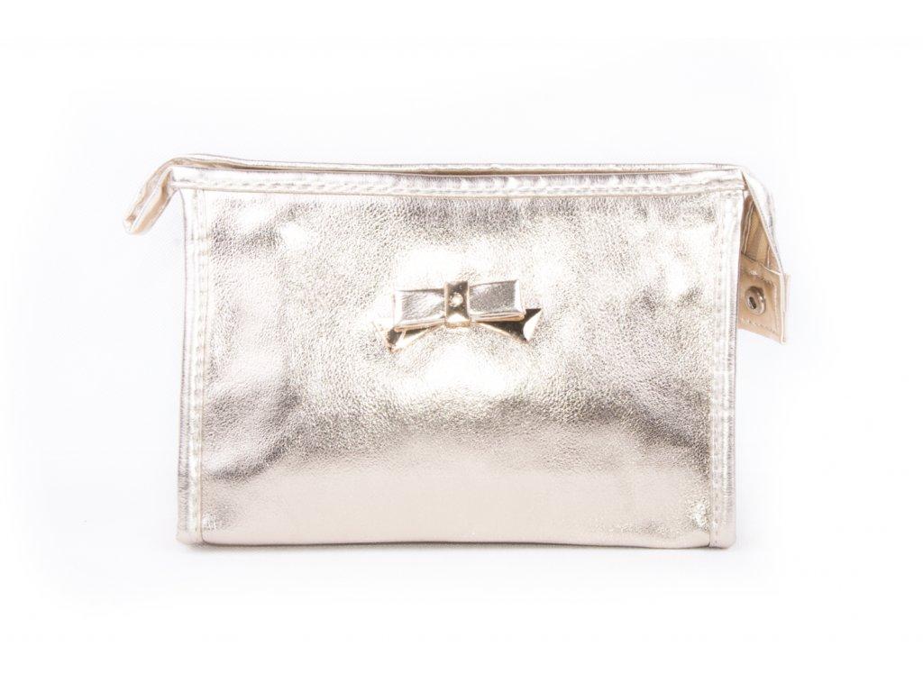 dámská kosmetická taška lesk 11532 6 62 6 zlatá (1)