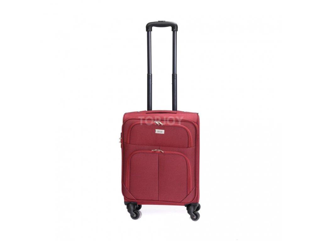 Cestovní kufr C-214 červený S