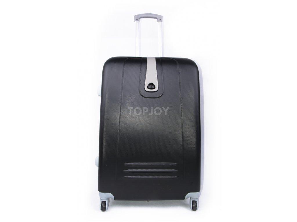 Cestovní kufr plastový černý 188 S
