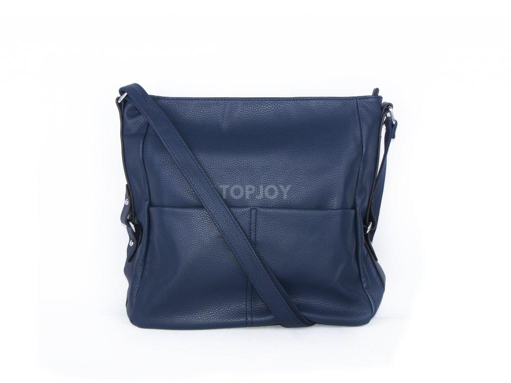 velká kabelka přes rameno modrá (4)