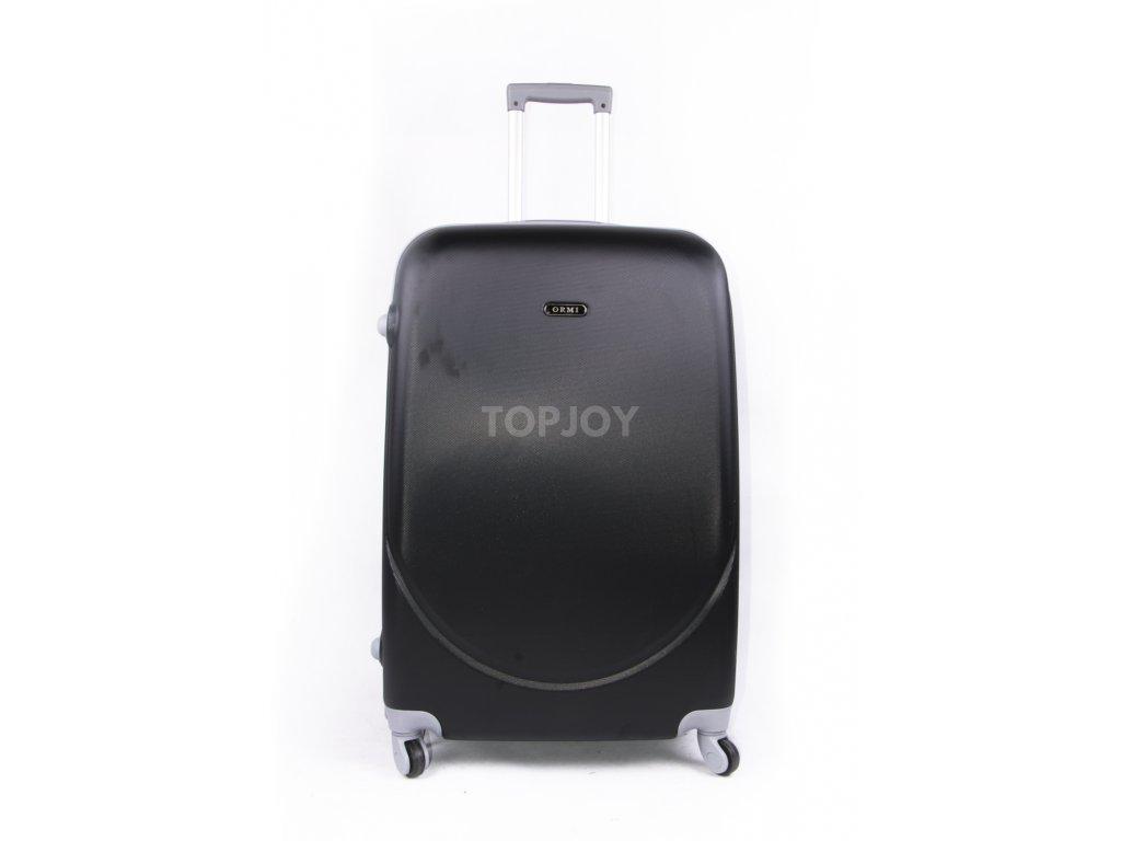 cestovní kufr plastový skořepinový černý (1)