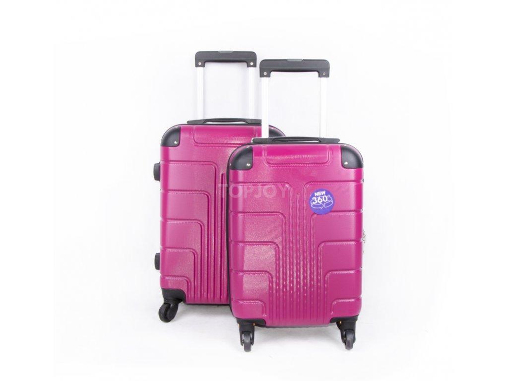 palubní kufr skořepinový fuchsiový (1)