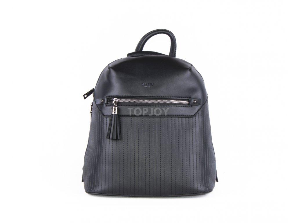 Dámský batoh s pevným dnem 4736 černý