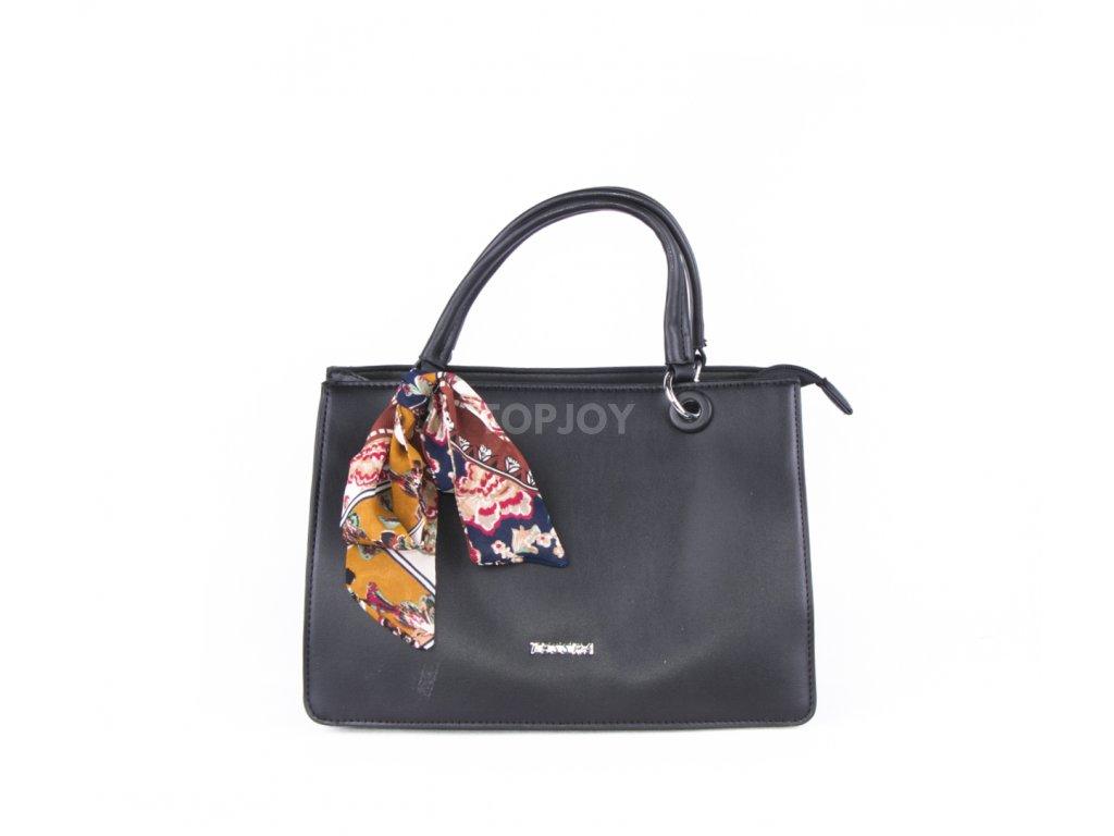 Elegantní kabelka do ruky 4854 černá