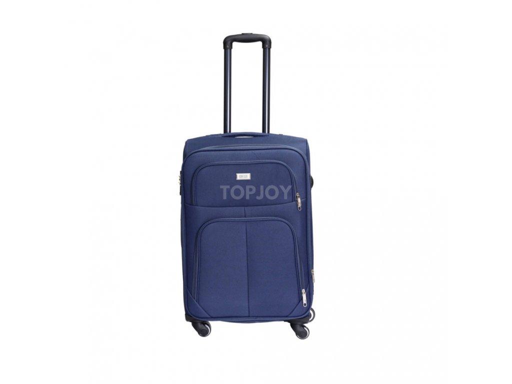 Cestovní kufr C-214 modrý M