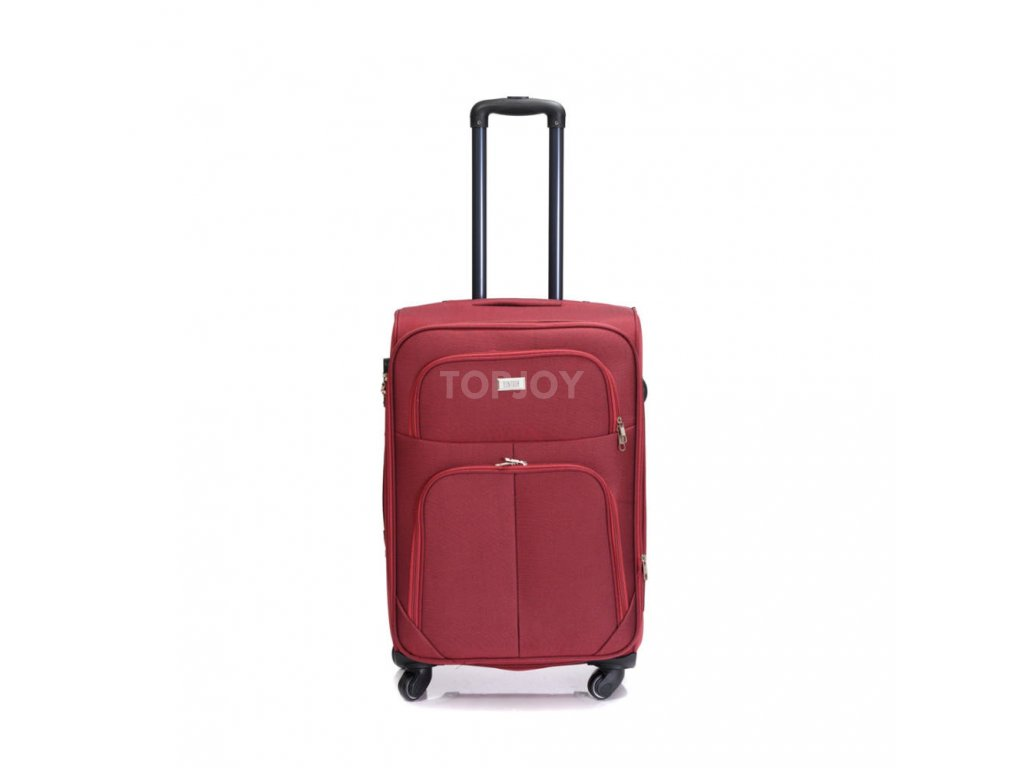 Cestovní kufr C-214 červený M
