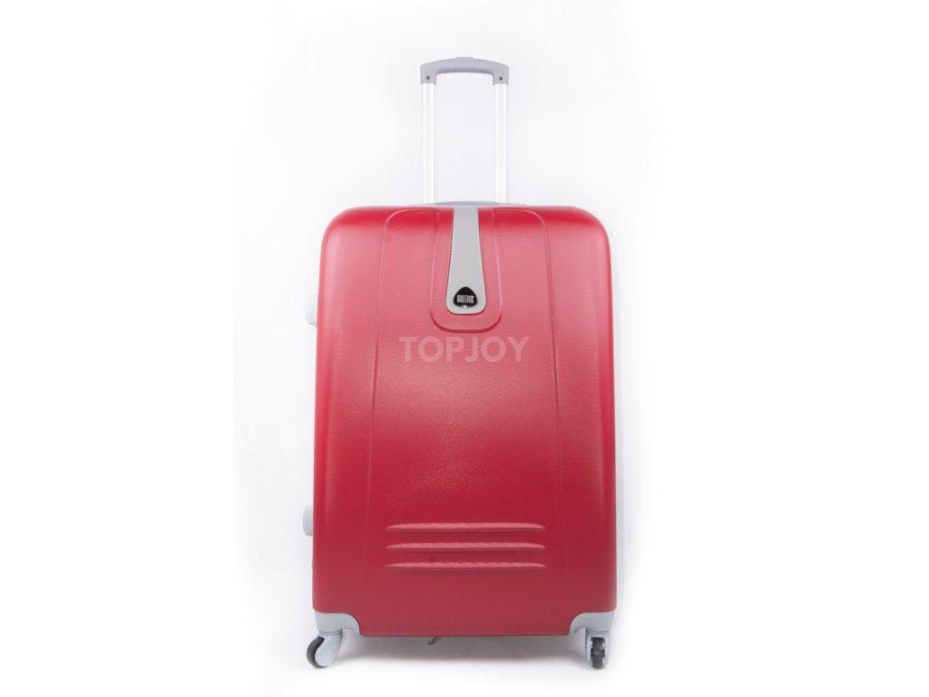 cestovní kufr skořepinový červený 188 3 (1)