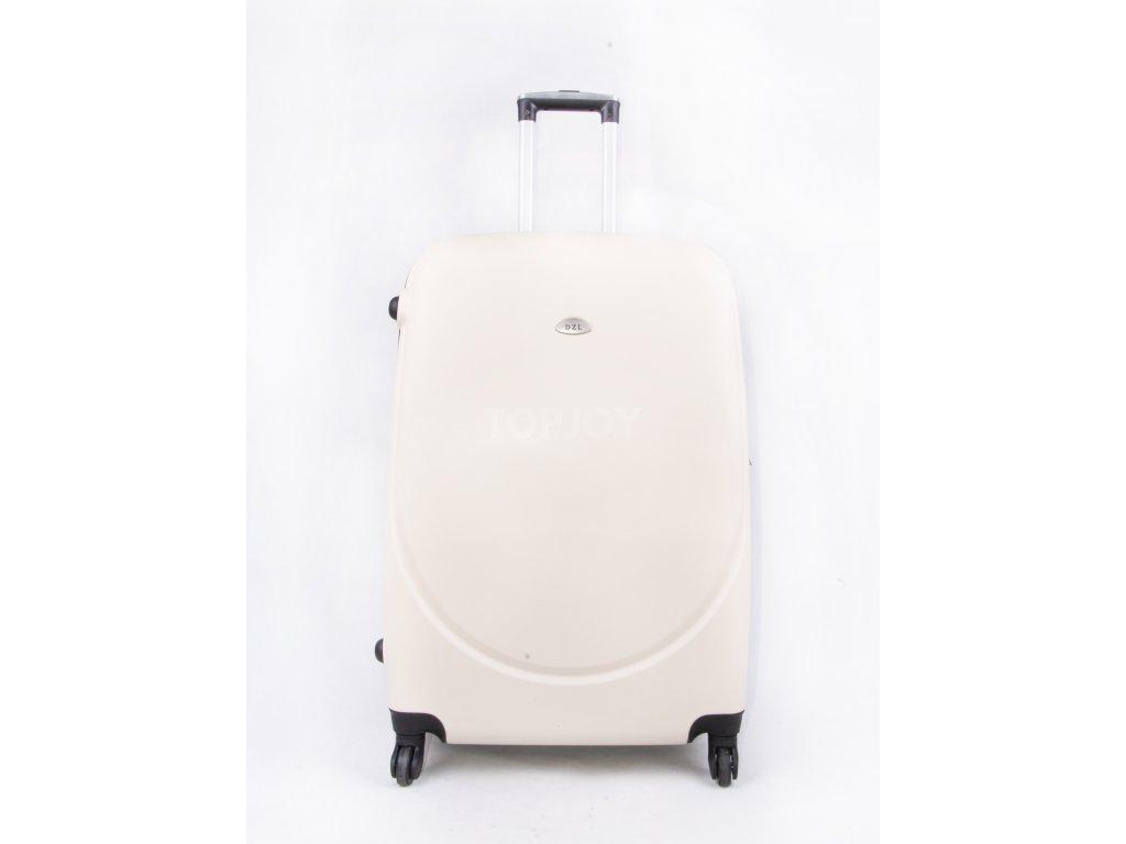 skořepinový kufr A08 bílý (7)