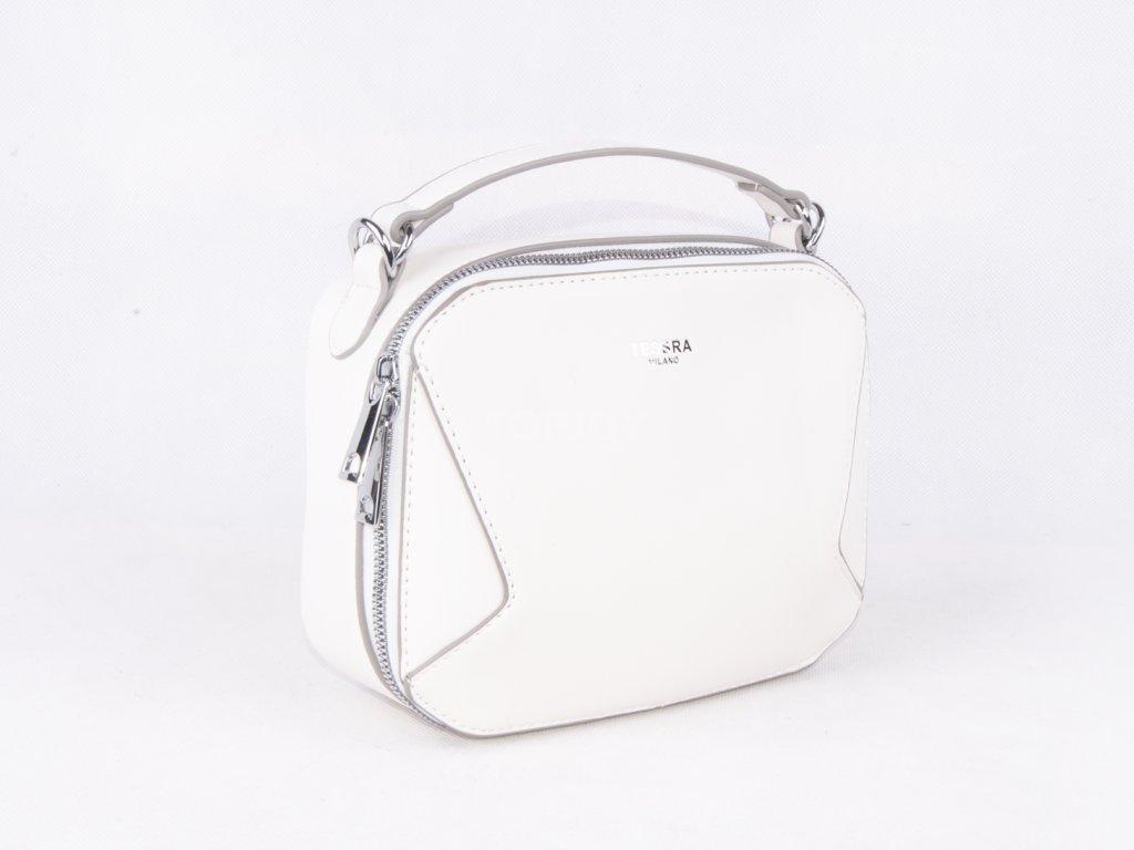 jednobarevná dámská crossbody malá taška přes rameno 4592 (5)