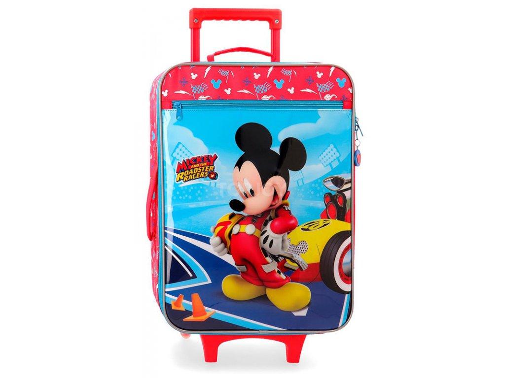 Dětský kufr Disney Mickey Let's Roll