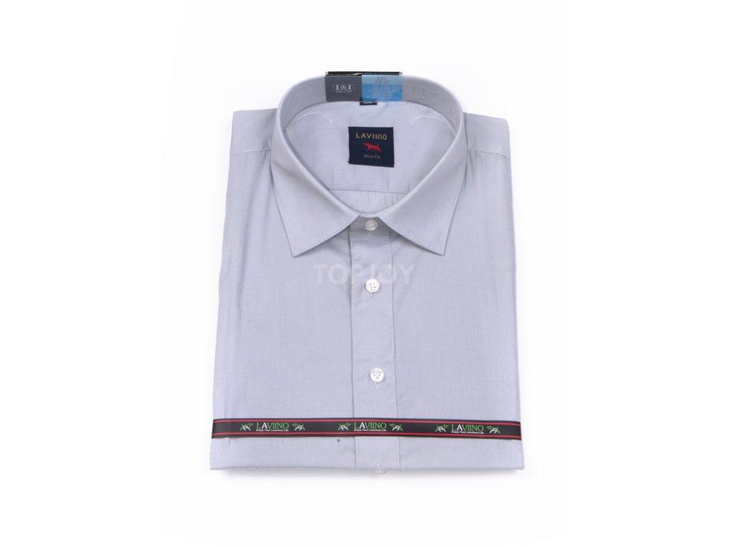 pánská košile krátký rukáv MK 10 slim fit