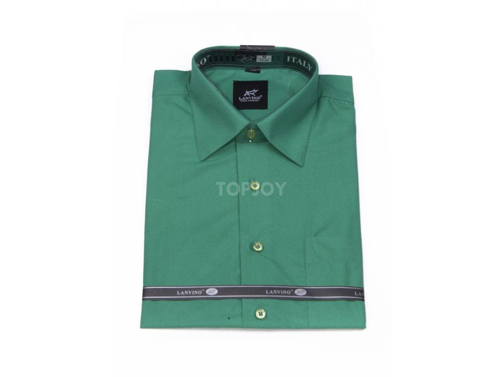 pánská košile krátký rukáv MK 74 slim fit