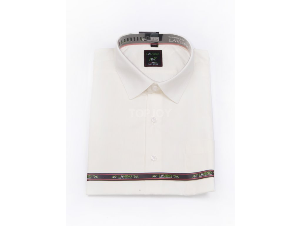 pánská košile krátký rukáv MK 63 slim fit