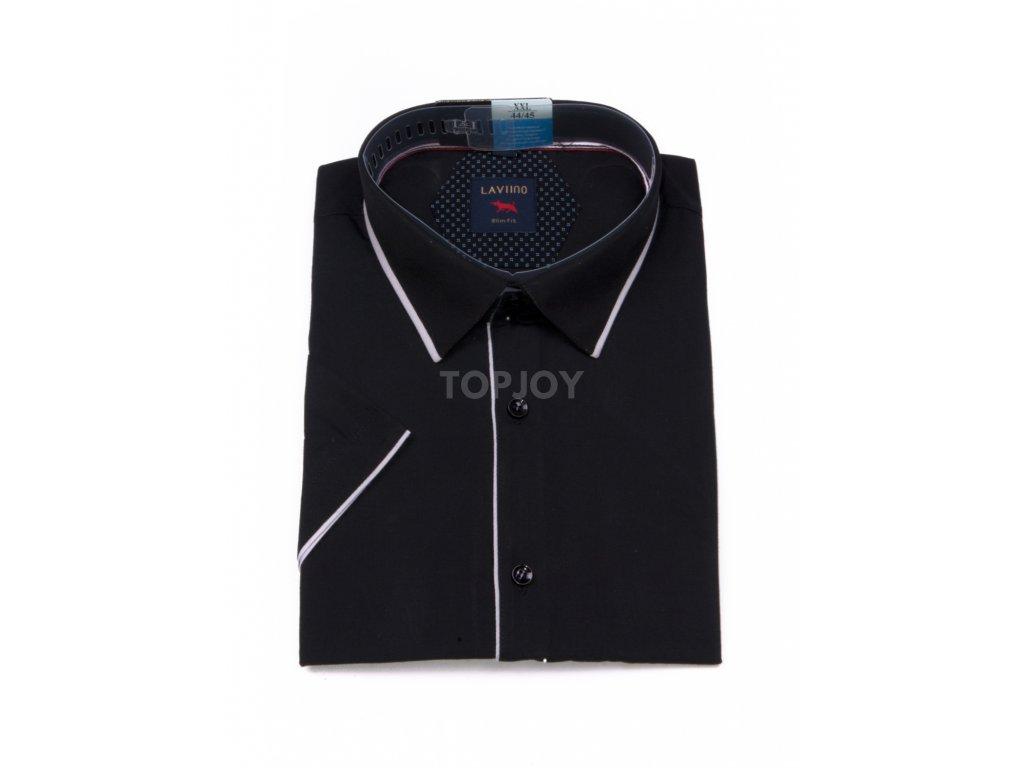 pánská košile krátký rukáv TMSK 14A slim fit (1)