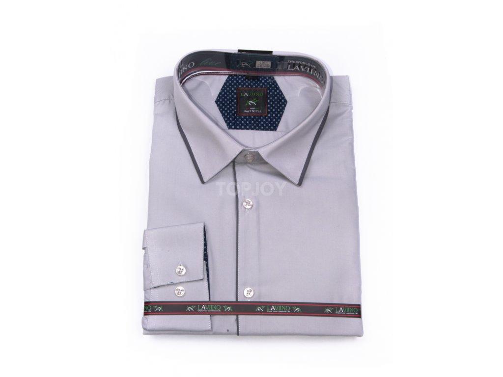 pánská košile dlouhý rukáv TS210 3