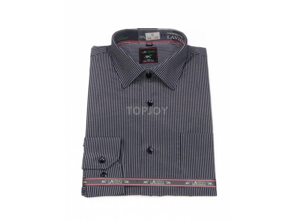 pánská košile dlouhý rukáv NDT10 3 (1)