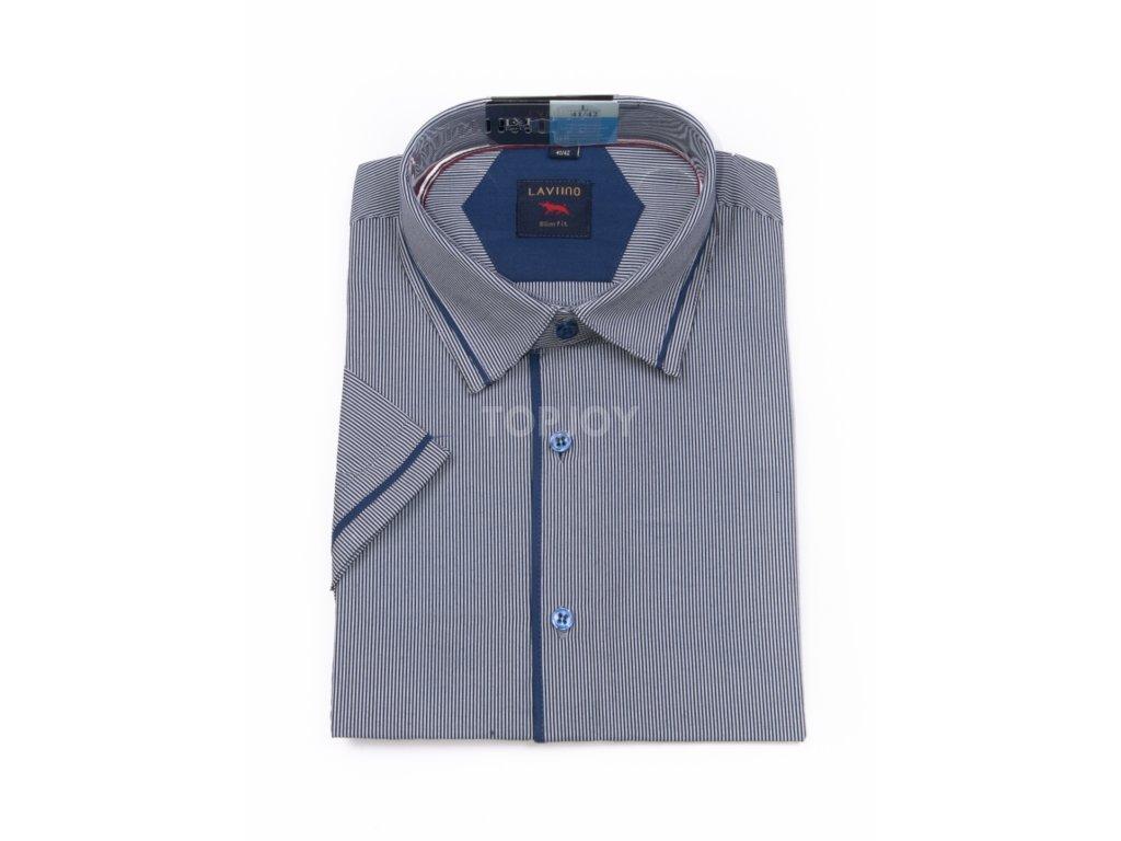 pánská košile krátký rukáv TSK53 3 slimfit (1)